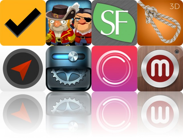 Today's apps gone free: Orderly, Scurvy Scallywags, SuperFoodsRx and more