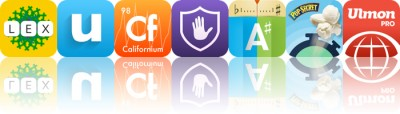 Today's apps gone free: LEX, UpWord Notes, EleMints and more