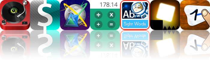 Today's apps gone free: Vinyl Tap, Frugi, Flux Pro and more