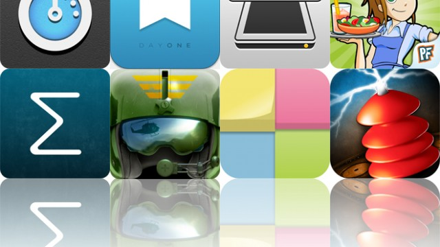Today's Apps Gone Free: Onyx Timer, Day One, iScanner And More