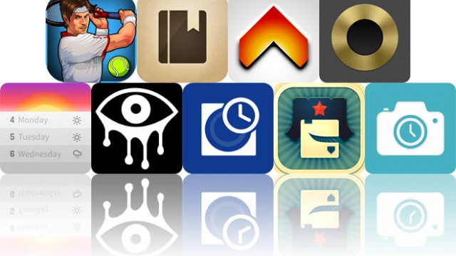 Today's Apps Gone Free: Motion Tennis, ClipBook, Boost 2 And More
