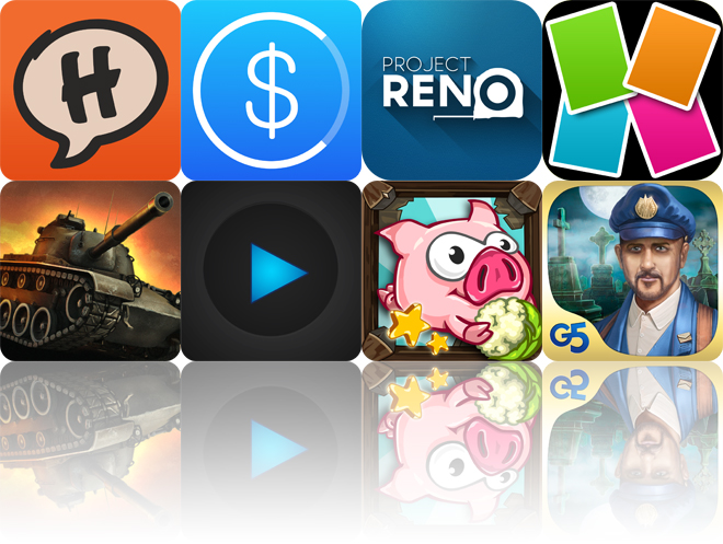 Today's Apps Gone Free: Halftone 2, Clara, Project Reno And More