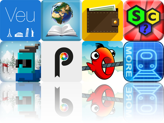 Today's Apps Gone Free: Veu, Ecosystems HD, Secure Filebox And More