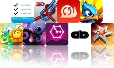 Today's Apps Gone Free: Pocket Lists, Knots 3D, ReplayCam And More
