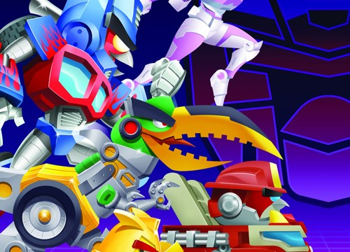 Rovio unveils the first trailer for Angry Birds Transformers
