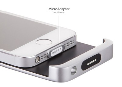 A new Kickstarter project, Cabin, brings MagSafe-like charging to the iPhone