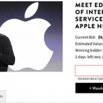 Meet Apple's Eddy Cue and take home a MacBook Air if you win this charity auction