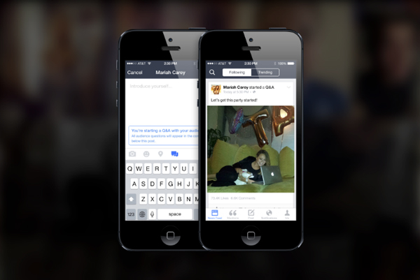 The new Facebook Mentions app is only for public figures