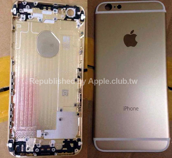 New shots of the 'iPhone 6' rear shell and flex cable appear online