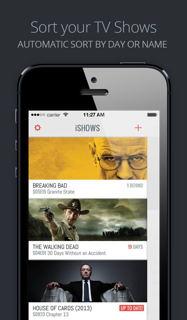 TV show management app iShows updated with iCloud integration and more features