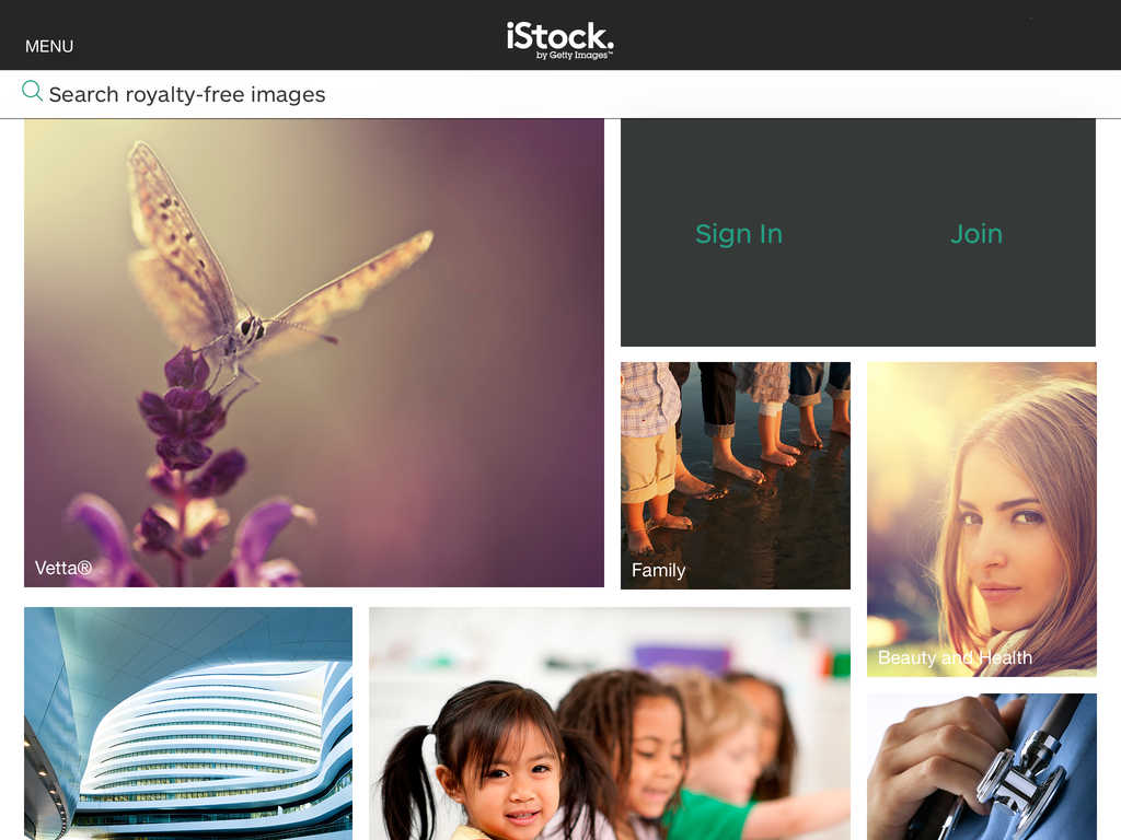 Getty Images updates official iOS app of iStock with new design for iOS 7 and more