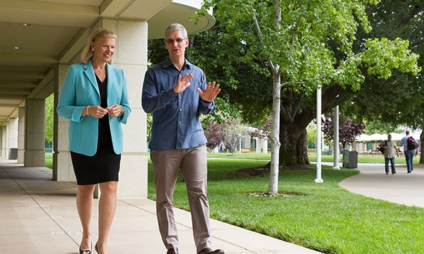 Apple, IBM announce significant partnership to push iOS devices for business