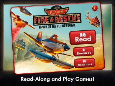 Become A High-Flying Hero In Disney's Planes: Fire & Rescue Storybook App For iOS