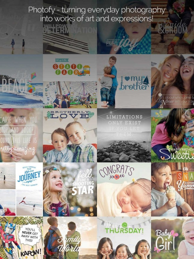 Photofy photo-editing app updated with new collage-making feature and more
