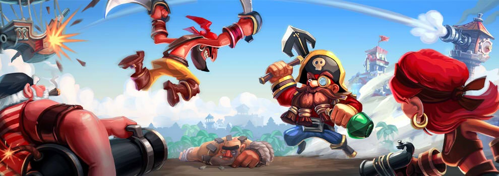 Arrr! Chillingo teams up with Nitro Games for Gang of Pirates combat strategy game