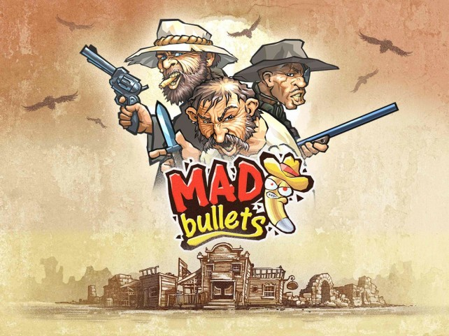 Shoot the bad guys, rescue damsels in distress and blow up the Wild West in Mad Bullets