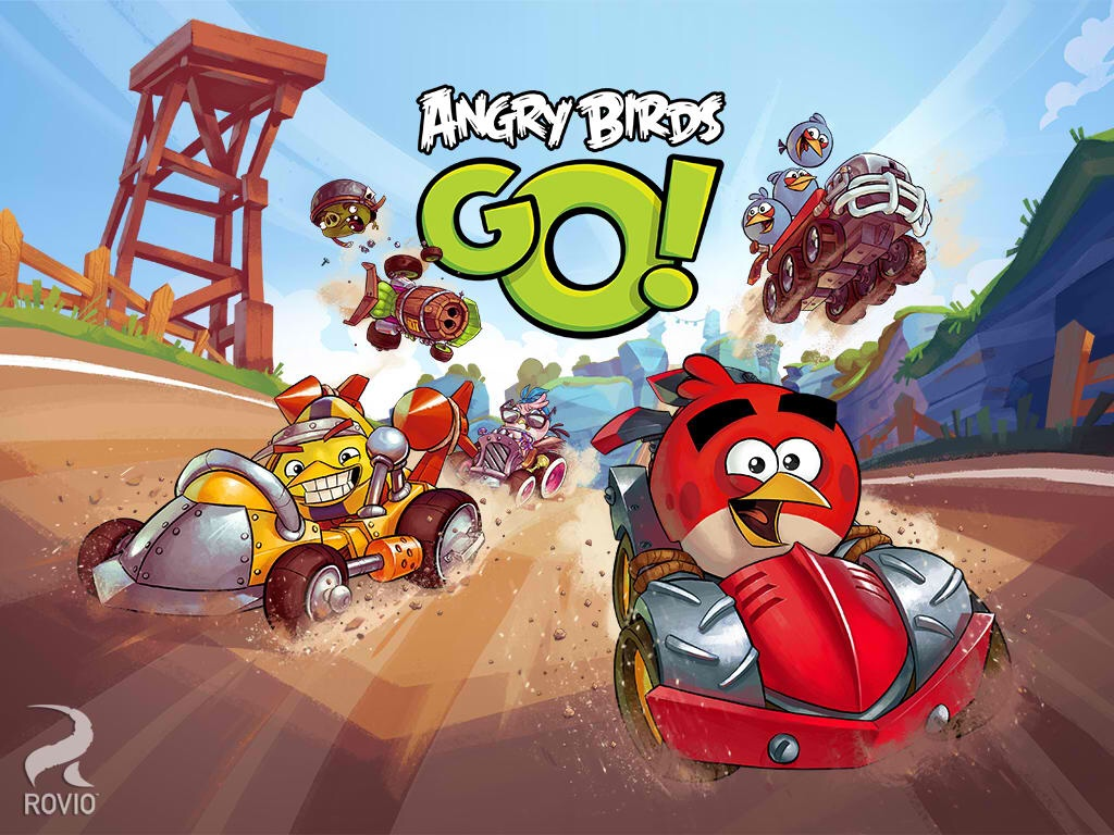 Multiplayer Racing Is Finally A Go In The New Version Of Rovio's Angry Birds Go!