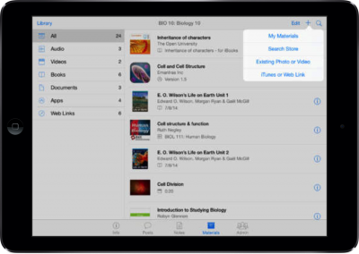 Apple's iTunes U App Includes New Collaboration Tools For Students And Teachers