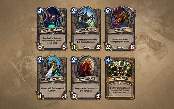 Curse of Naxxramas expansion arrives for Hearthstone: Heroes of Warcraft