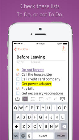 Microsoft OneNote for the iPhone and iPad now allows users to insert files into notes and more