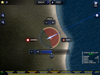 How will you fare on the World War II Pacific front in Battle Fleet 2?