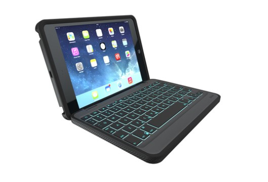 ZAGG unveils a rugged folio keyboard case for the iPad Air, iPad mini