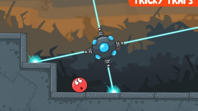 Save the world by rolling and jumping in Red Ball 4, a new physics-based platformer