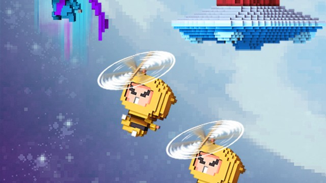 Can you jump all the way up to the moon? Find out in Ninja UP!
