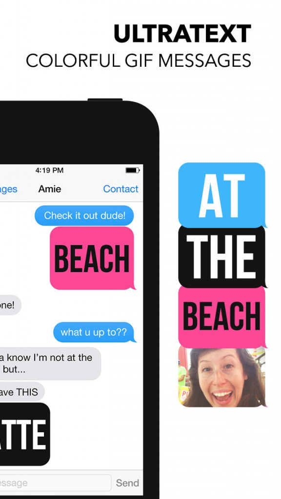 Spruce up your iMessages and SMS with Ultratext