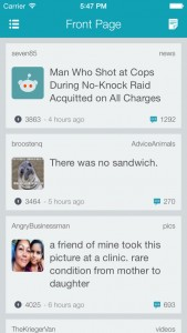 Does Reddme for iPhone - The Reddit Client stack up to the competition?