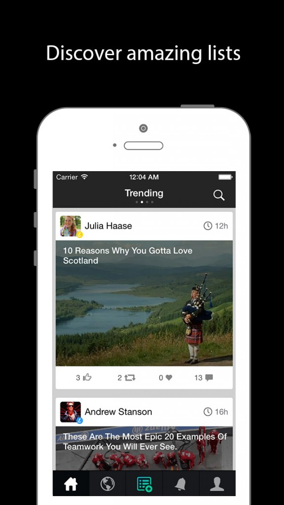 Share Stories And Useful Information With Others Through Lists In Listicle