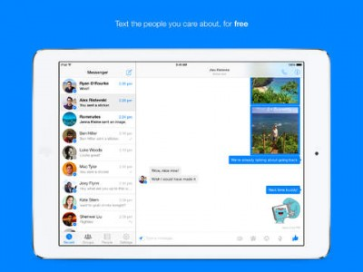 It's Time To Chat As Facebook Messenger Arrives On iPad