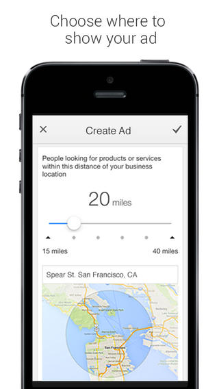 Google introduces AdWords Express for iOS