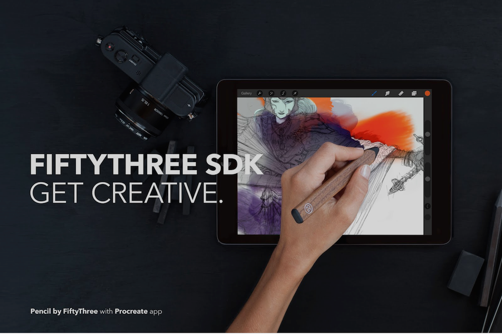 FiftyThree's Pencil stylus now works with more than just Paper