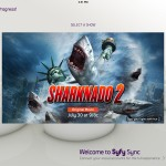 Just in time for 'Sharknado 2,' the Syfy Sync app can now pair with Philips Hue light bulbs