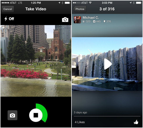 Yelp app users can now add short videos to their reviews
