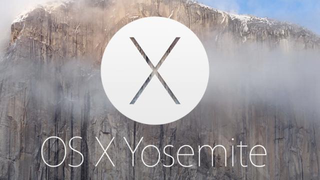 Apple's OS X Yosemite Is Already More Popular Than OS X Mavericks