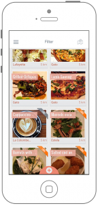 Foodmento for iPhone helps you find the most scrumptious dishes nearby