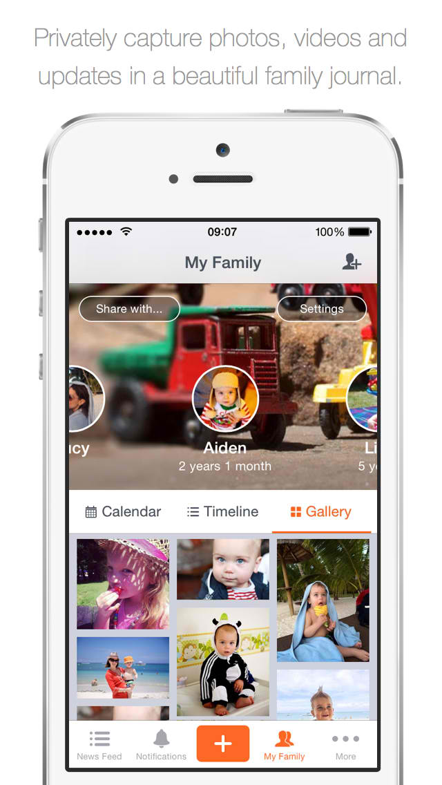 Version 5.0 of 23snaps arrives for better family album and private photo sharing