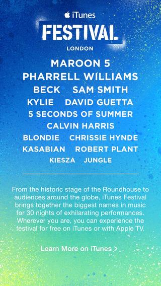 iTunes Festival.