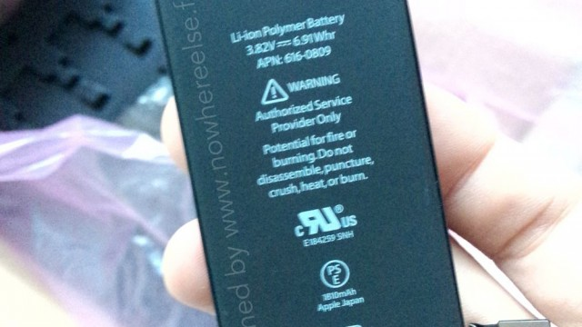 Further leaked photos of battery of 4.7-inch 'iPhone 6' indicate 1,810 mAh capacity
