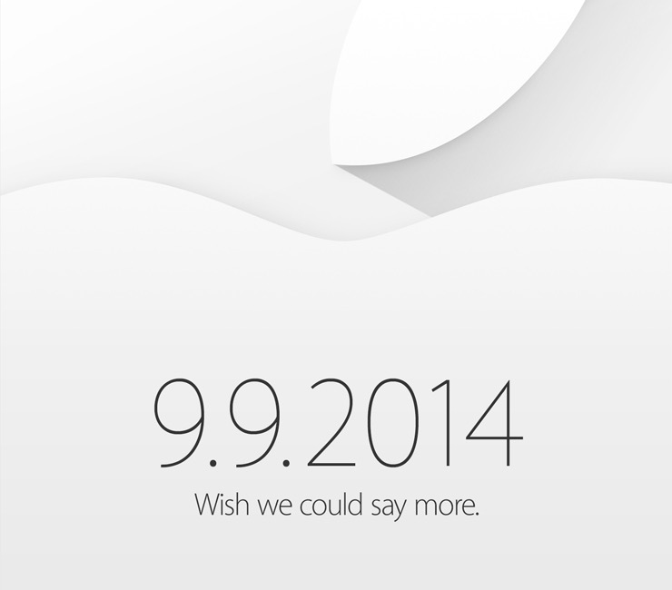 Apple announces Sept. 9 event expected to feature the 'iPhone 6' and 'iWatch'