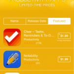 Apple features 'Amazing Productivity Apps' on limited-time sale on the App Store