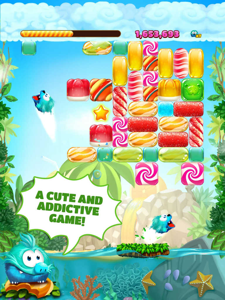 Gameloft rereleases Candy Block Breaker for iOS sans Tango integration