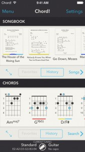 Chord! guitar app goes 2.0 with universal support, new songbook mode and more features