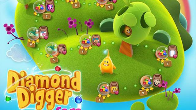 You dig? Candy Crush Saga creator King to soon launch Diamond Digger Saga on iOS