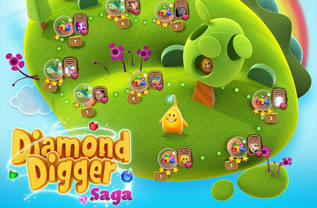 You dig? Candy Crush Saga creator King to soon launch Diamond Digger Saga on iOS