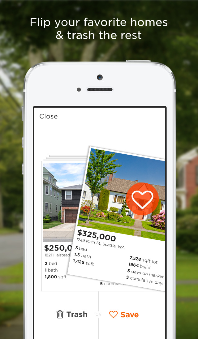 Estately goes 2.0 with new Flip interface that's like 'Tinder for real estate'