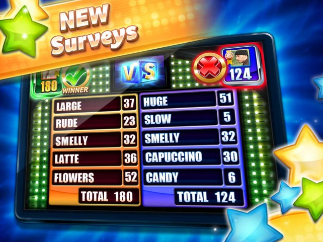 Survey Says ... Play to become the ultimate Feuder in Family Feud 2 for iOS