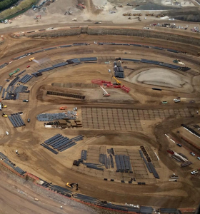 Progress is continuing on Apple's in-development Campus 2